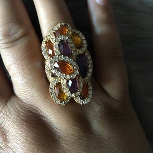 RETIRED CACHE cocktail ring